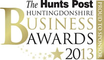 Proud to sponsor the Hunts Post Business Awards 2012