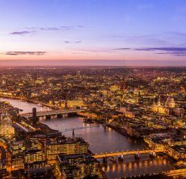 city london sunset