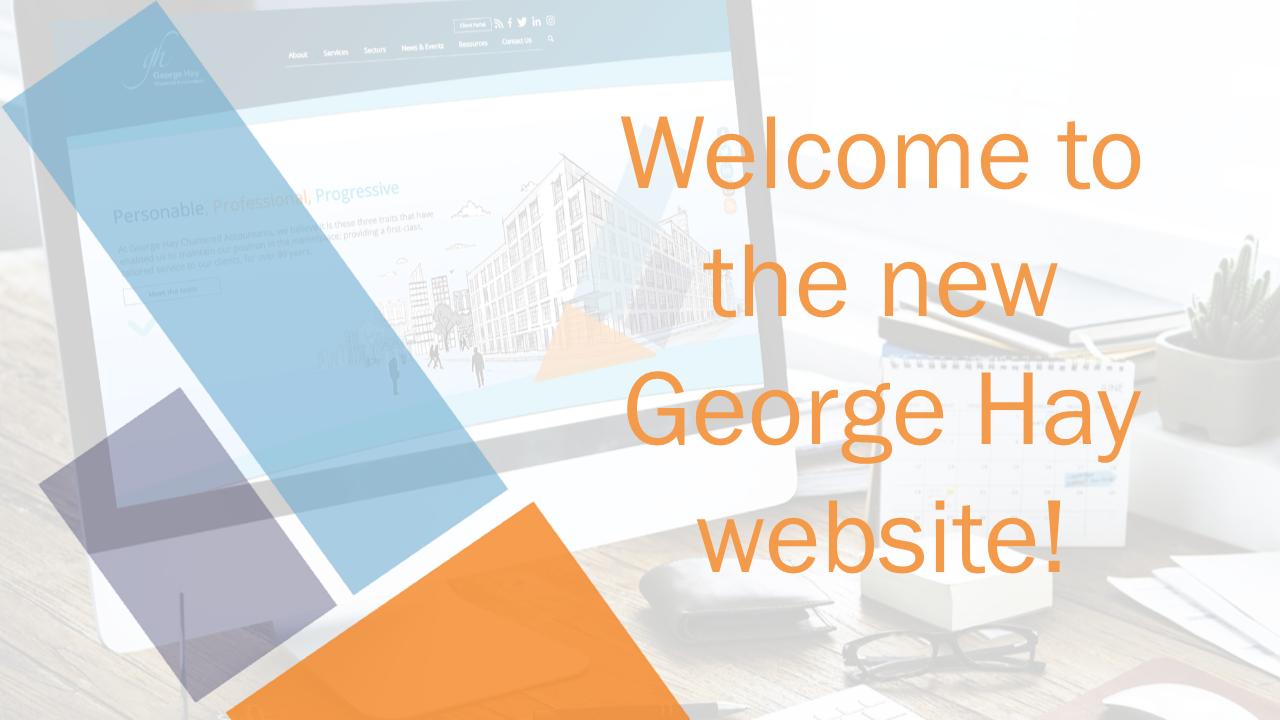 george hay new website