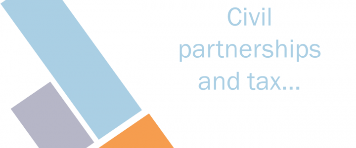 Civil partnerships and tax