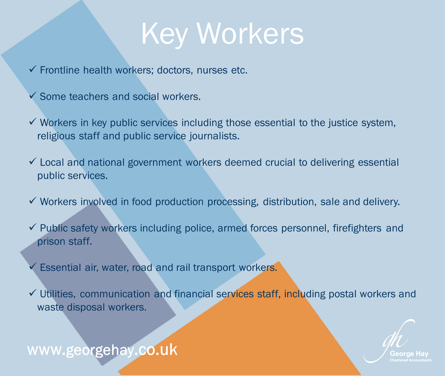 Who Are Key Workers During The Coronavirus Outbreak