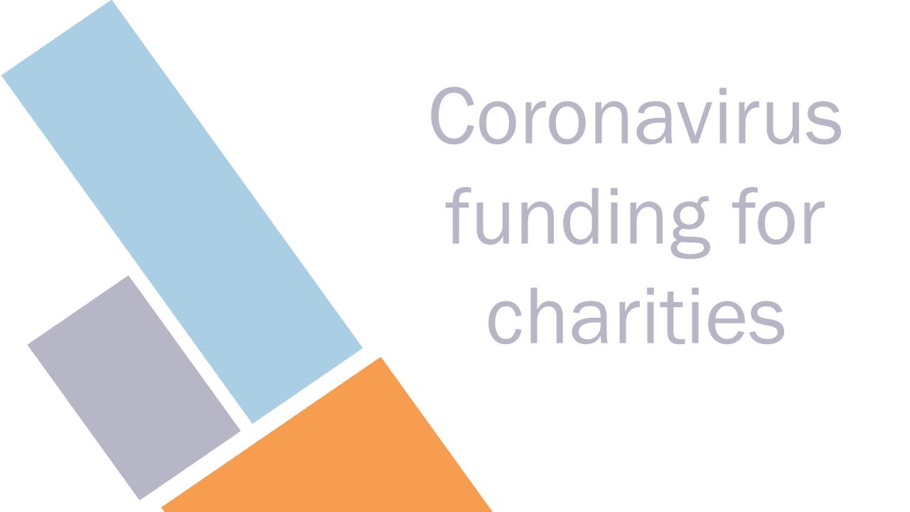 Frontline charities to receive coronavirus funding