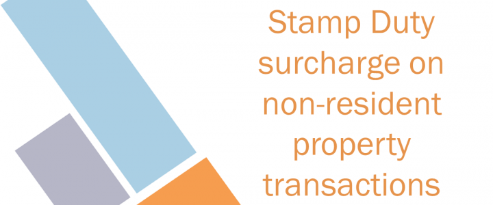 Stamp duty surcharge on non-resident property transactions