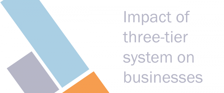 Three-tier system impact on businesses