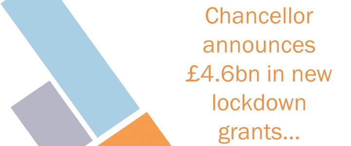 New lockdown grants announced by Chancellor