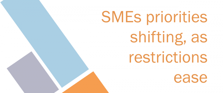 SMEs priorities shift as they look past pandemic